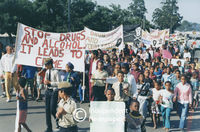 Anti-drug protests, Cape Town