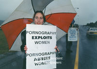Anti-pornography protests, Cape Town