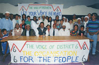 Former District Six residents, Cape Town