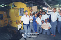 Protesting apartheid in Metrorail, Cape Town