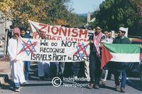 Zionism protest, Cape Town