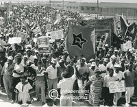 Anti-VAT demonstration, Khayelitsha, Cape Town