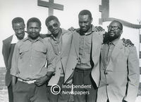 Unconditionally released from Robben Island, Cape Town