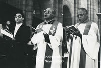 Dr Allan Boesak, Archbishop Stephen Naidoo and Archbishop Desmond Tutu, Cape Town