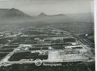 Aerial view of Epping, Cape Town