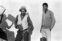 Farm labourers, Mangete, South Africa