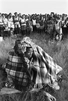 Traditional initiation, iNyoni, South Africa
