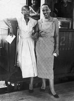 Two women dressed smartly, Fort Beaufort, Eastern Cape, South Africa