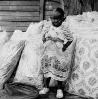 Young child, Mai Mai market, Johannesburg, South Africa