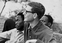 Student leaders, Steve Biko and David Hemson
