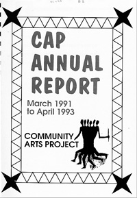 CAP annual report March 1991 to April 1993
