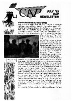 RECAP, July '93  : CAP newsletter