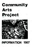 Community Arts Project information 1987