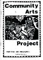 Community Arts Project : part-time art programme : course brochure