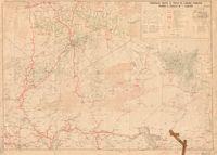 Principales routes et pistes de l'Afrique Française