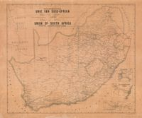 Posverbindings : Unie Van Suid-Afrika = Union of South Africa : postal communications