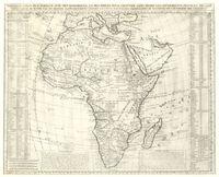 Nouvelle carte d'Afrique avec remarques et des tables pour trouver sans peine les differents peuples de cette partie du monde par les renvois alphabetiques suivant les plus nouvelles observations de messieurs de l'Academie des Siences [sic]