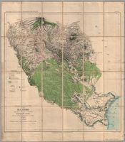Garnison-umgebungs-Karte von Massoko