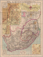 The Times map of British South Africa, the Transvaal and Orange Free State