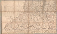 Map of the colony of Natal. Ladysmith-Dundee