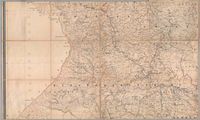 Map of the colony of Natal. Pietermaritzb'g