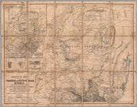 Original map of the Transvaal or South-African Republic from surveys and observations by M. Forssmann, C. Mauch, F. Hammar, J. Brooks and other official documents