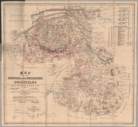 Map of the Pretoria and Heidelberg goldfields