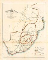 Cape Government Railways map