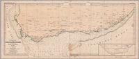 Übersicht der Trigonometrischen & Nautischen aufnehmen in Kaplande bis 1867--[cartographic material]