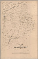 Plan of the division of Graaff Reinet, 1900