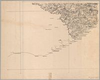 Map of the eastern border districts of the Cape Colony comprising the divisions of East London, King William's Town, Queenstown, Wodehouse, Stockenstrom, Fort Beaufort, Peddie, Victoria East, and a portion of Kaffraria proper