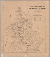 Cape Times war map no. 2, the colony of Natal