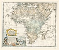 Map Of Africa In 1800.Search Results Uct Libraries Digital Collections