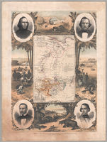 Map of part of Africa showing the progress of the expedition under Messrs Richardson, Barth, Overweg & Vogel in the years 1850-1853