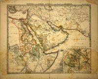 Mittel- und Nord-Africa (oestl. Theil) und Arabien