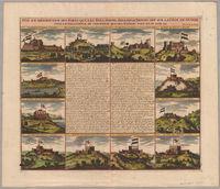 Vûe et description des forts que les hollandois, anglois et danois ont sur la côte de Guinée