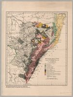 Geological map of Natal