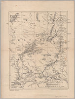 [Map of Matabeland, the territory of the Matabili people, with part of southern Mashonaland]