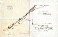 Reconhecimento hydrographico da costa entre os Pharoes do Sombreiro e Salinas