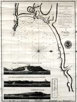 Plan of Plettenberg Bay on the south coast of Africa