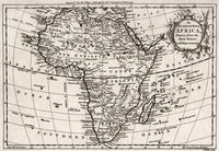 An accurate map of Africa drawn from the Sieur Robert with improvements