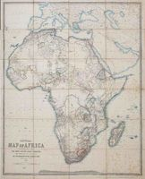 General map of Africa
