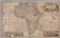 To the right honourable Charles, Earl of Peterborow and Monmouth, etc this map of Africa according to ye newest and most exact obervations is most humbly dedicated