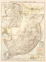 Miller's new map of British South Africa