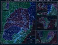 W. & A.K. Johnston's war map of the Transvaal, Orange Free State, &c.