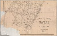 Map of the colony of Natal and Zululand