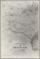 Jeppe's map of the Transvaal or S.A. Republic and surrounding territories