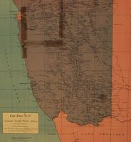 Cape Times map of German South-West Africa (southern portion)
