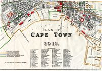 Plan of Cape Town