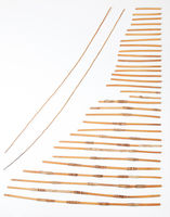 Dithlaka (set of 32); two tuning sticks
